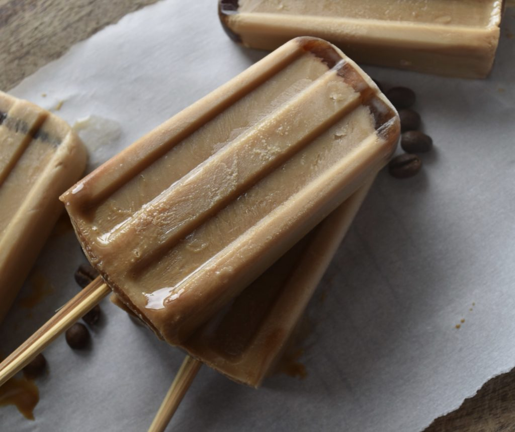 iced coffee popsicles by Supper Club Studio